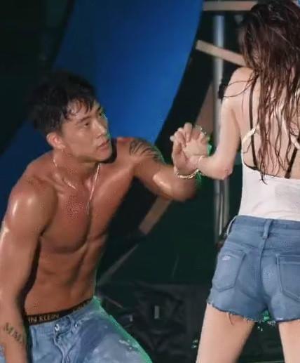 Korean wet dance performance - 3 2