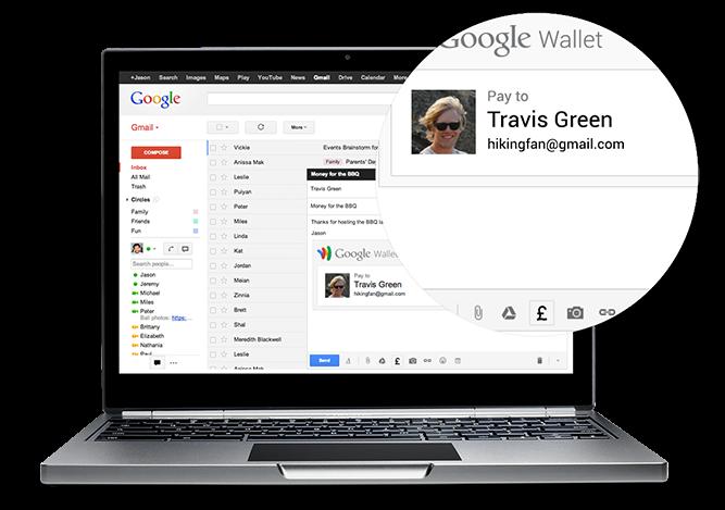 寫封電子郵件就能匯款!Gmail英國用戶也將享有轉帳功能