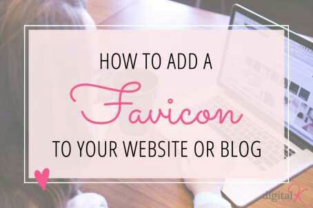 how to add favicon in blogger blog