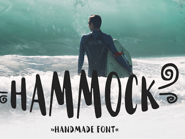 Hammock Handmad Brush Font Free Download