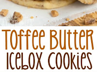 Toffee Butter Icebox Cookies Recipe