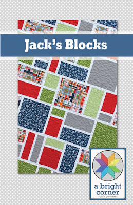 Jack's Blocks quilt pattern by Andy Knowlton of A Bright Corner