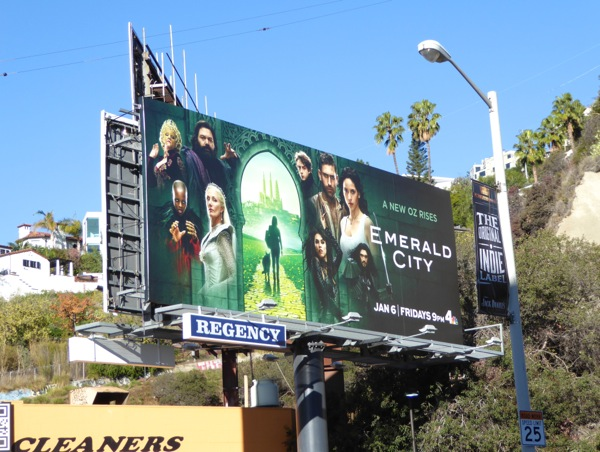 Emerald City season 1 billboard