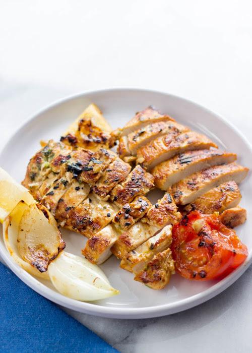 Recipe : Mediterranean Grilled Chicken Breasts - My Favorite Things