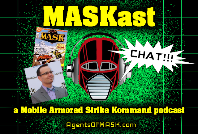 MASKast Chat: Mike Quackenbush Interview & New IDW Comic Book Series