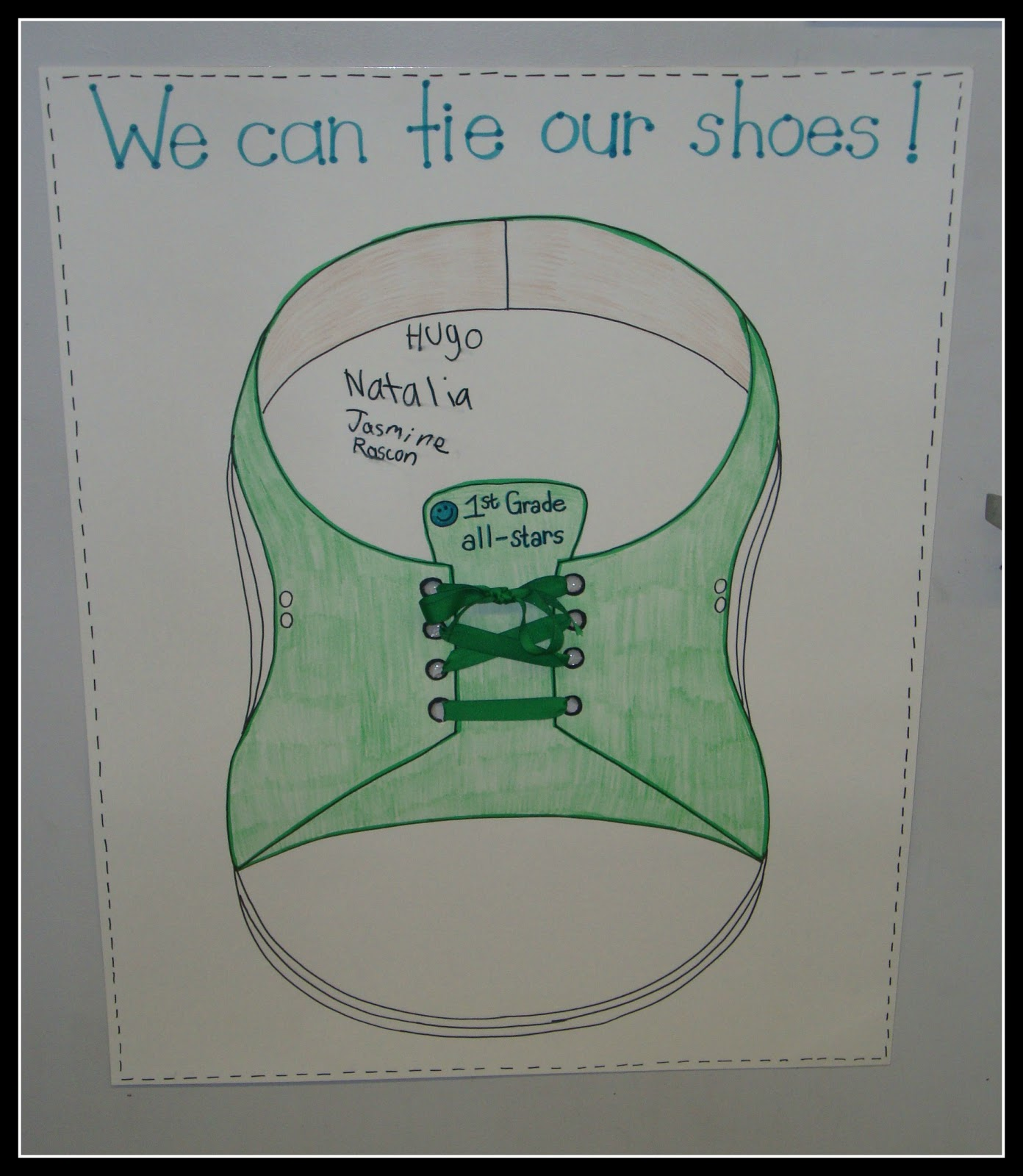 Today In First Grade Tie Your Shoes