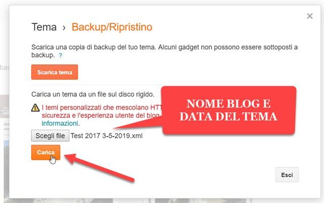 ripristinare-tema-blogger
