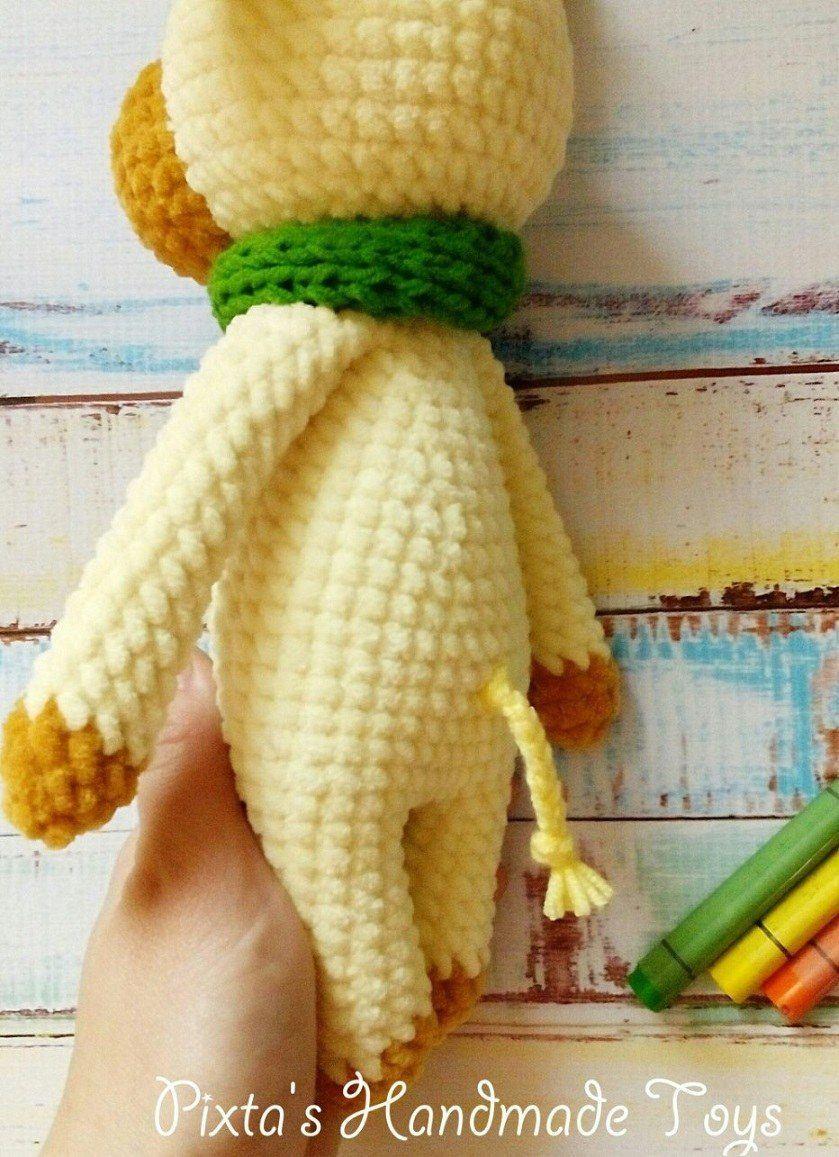 Crochet toy bull amigurumi