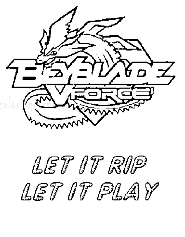 Beyblade Coloring Pages - Free Printable Colouring Pages for kids ... | 769x600