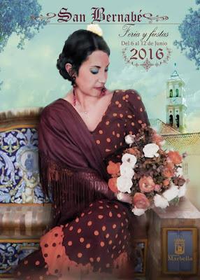 Feria de San Bernabé 2016 - Marbella - Manuel J. Torrejón Pérez - Modelo Lidia Ortiz Santiago