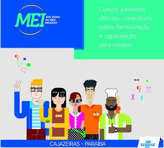 Microempreendedores de Cajazeiras terão atividades gratuitas durante Semana do MEI