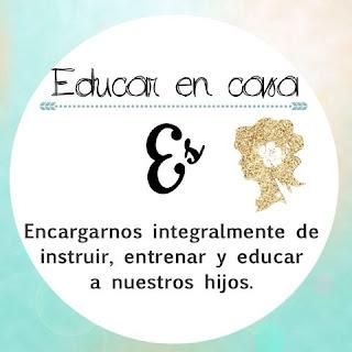 Homeschool y educar en casa Es encargarnos integral,ente de instruir, entrenar y educar a nuestros hijos