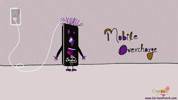 Mobile Overcharge Cartoon