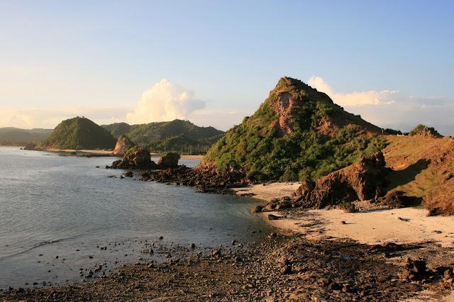 Lombok, playa kuta