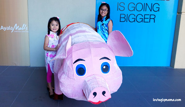Chinese New Year Field Trip - Bacolaodiat - Bacolod - Bacolod mommy blogger -Filipino-Chinese- Chinese costumes for kids - Year of the Pig