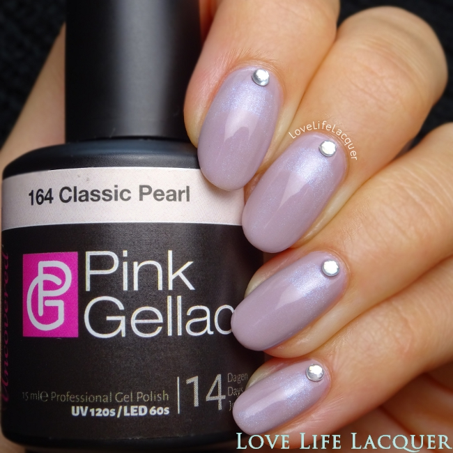 Pink Gellac Uncovered1 Ruffian Nail Art