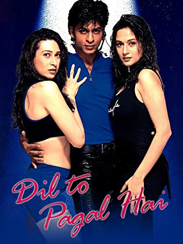 Poster Of Dil To Pagal Hai 1997 720p Hindi BRRip Full Movie Download