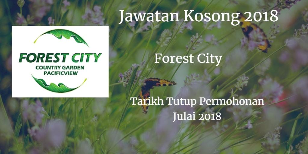 Jawatan Kosong Forest City Julai 2018