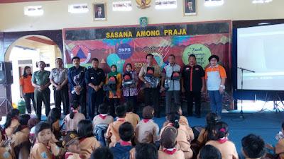 BNPB Berikan Pengetahuan Kebencanaan Kepada Siswa Empat Sekolah Rawan Bencana