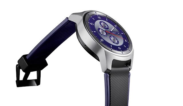 ZTE ra mắt smartwatch ZTE Quartz chạy Android Wear 2.0 giá 192 USD