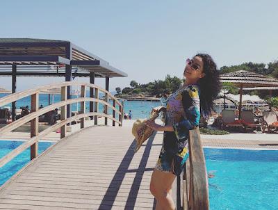 رحلة زينة الالوسي في مدينة بودروم في تركيا