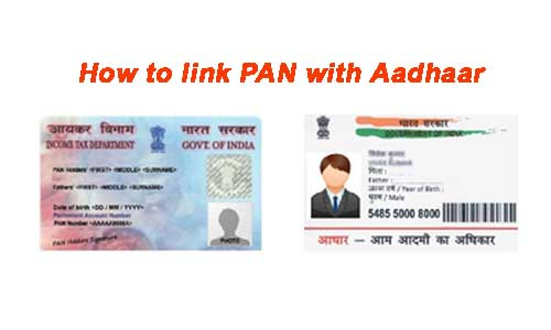 ways to link pan card with aadhaar