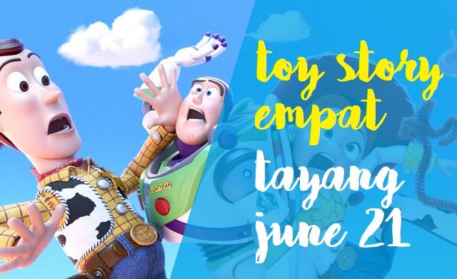 Sudah ditetapkan Toy Story Siap Tayang 21 Juni 2019