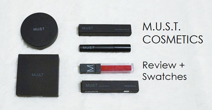 M.U.S.T. Cosmetics Review + Swatches
