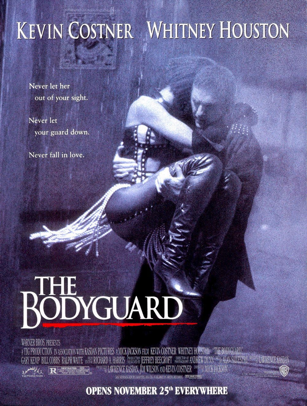 Nonton Film The Bodyguard (1992)