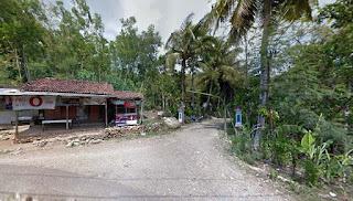 Jalan Masuk Perumahan Joho Damas Hadiwarno Ngadirojo