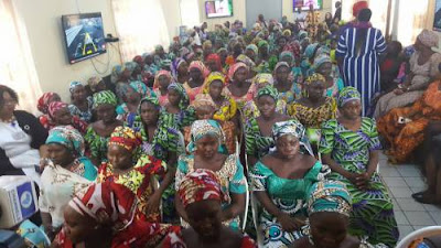 DSS Hands Over Freed Chibok Girls To Ministry Of Women Affairs