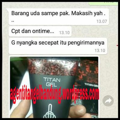 testimoni titan gel asli
