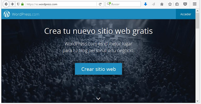 Wordpress, Sitios Para Crear un Blog Gratuito