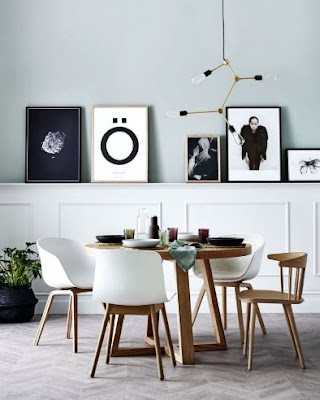 The Idea Of B​eautifying The Dining Room Walls Creatively
