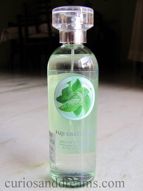 The Body Shop Green Tea Eau de Cologne review, The Body Shop Green Tea perfume review