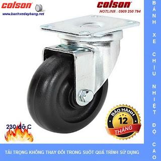 Các loại bánh xe đẩy chịu nhiệt độ cao Colson Caster Mỹ www.banhxedayhang.net