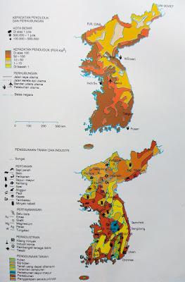 Gambar Peta lengkap Korea Utara