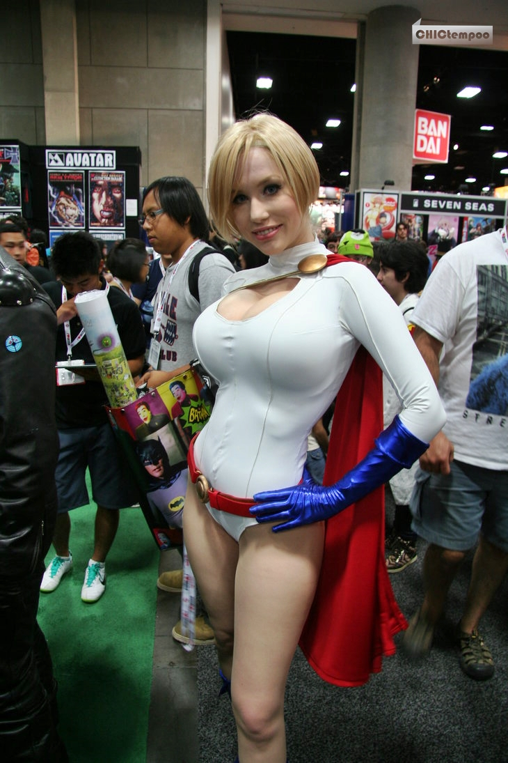 Sexy Power Girl Costume