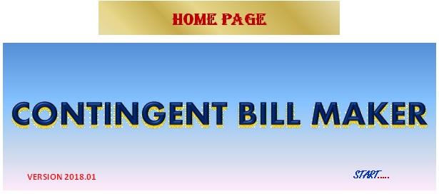 ansar thachayil contingent bill maker