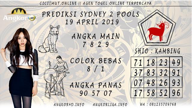 Prediksi Angka Jitu SYDNEY 2 POOLS 19 APRIL 2019