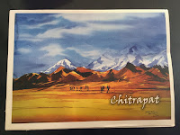 Chitrapat handmade paper pad, 270 gsm, rough textured surface
