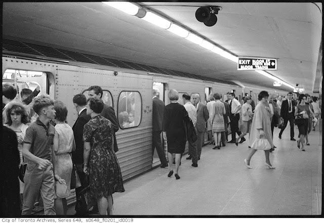 Toronto Subway 1960s