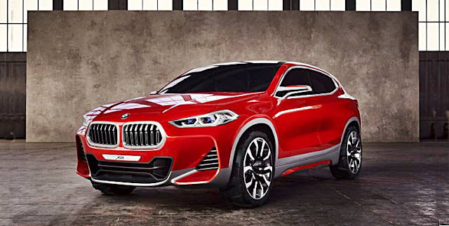2018 BMW X2 previewed with Paris motor show concept