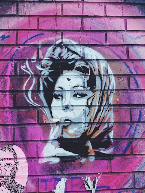 Street Art in Williamsburg, Brooklyn