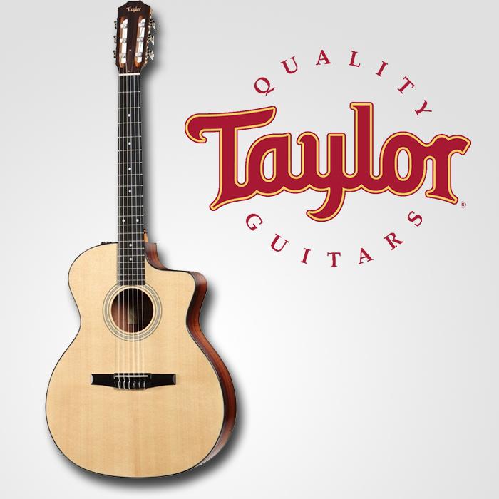 dan guitar taylor 214e-n