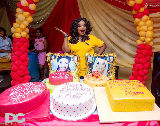 Actress Empress Njamah Shares Pictures From Her Birthday Celebration