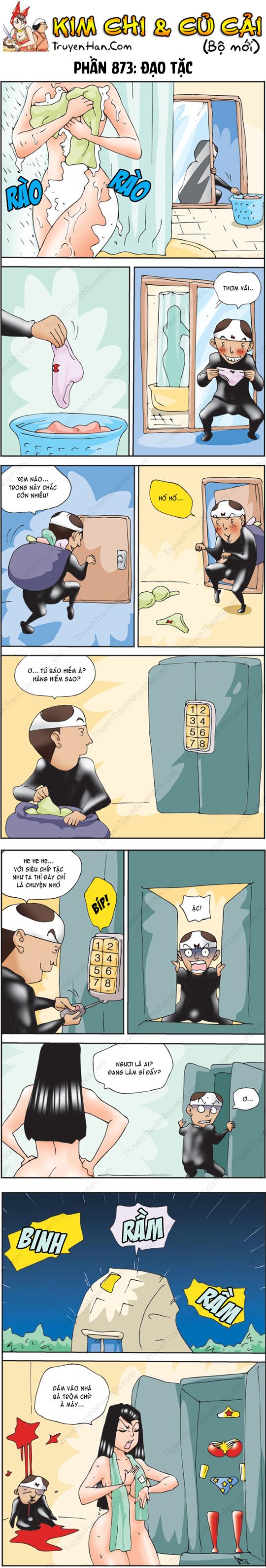 Kim Chi Và Củ Cải Phần 873: Đạo tặc