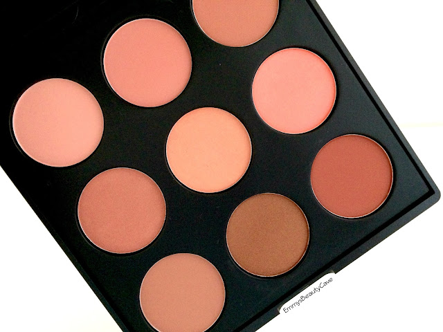 Morphe 9N Blush Palette Review