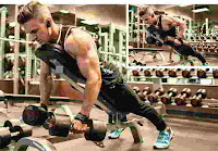 Prone Dumbbell Incline Bench Row