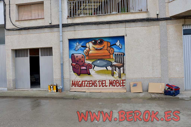 Pintura mural Verdú